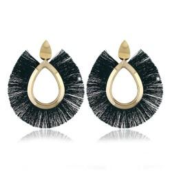 """Miroir de poche """"Fifi sur fond jaune"""""""