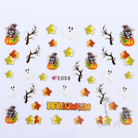 Stickers Simulation Halloween E059