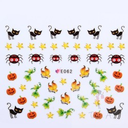 Stickers Simulation Halloween E062