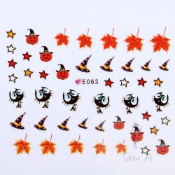 Stickers Simulation Halloween E063