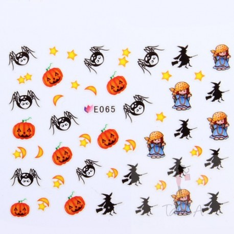 Stickers Simulation Halloween E065