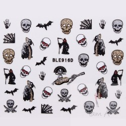 Stickers Halloween BLE 916D