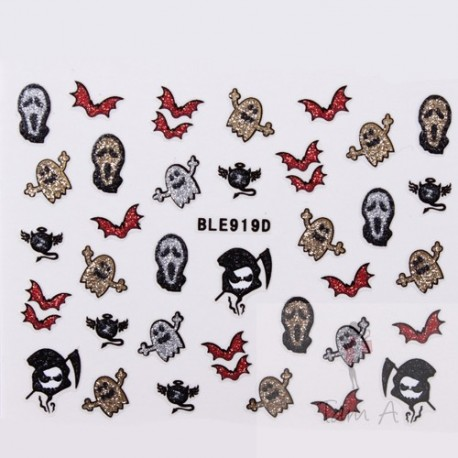 Stickers Halloween BLE 919D